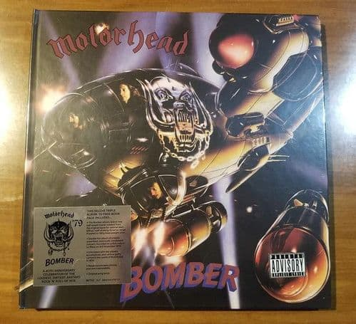 Motorhead<br>Bomber (40th Anniversary Edition)<br>LP, RE, RM, 180g + 2LP, RM, 180g + DL
